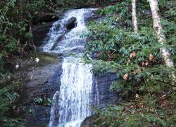 Waterfall at Chestnut Mountain Cabin